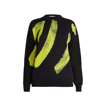 Nina Ricci Brushstroke Wool Sweater