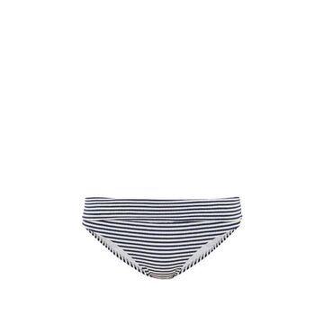 Melissa Odabash - Provence Foldover Striped Bikini Briefs - Womens - Navy Stripe