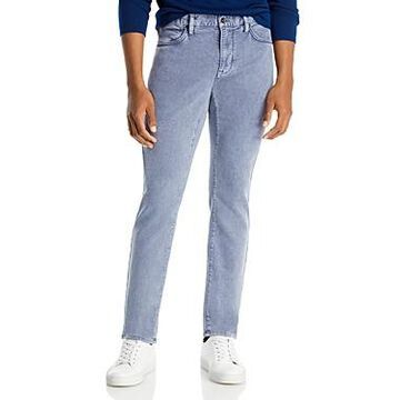 John Varvatos Star Usa Bowery Slim Straight Jeans in Dusted Blue
