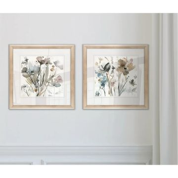 Wexford Home 'Dainty Blooms I' Framed Art Set