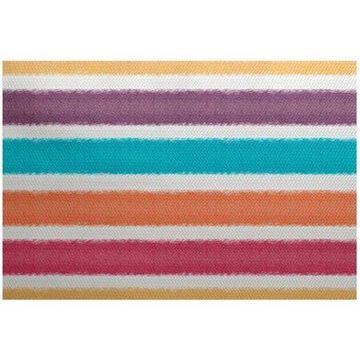 Simply Daisy 2' x 3' Fun in the Sun Stripe Print Rug