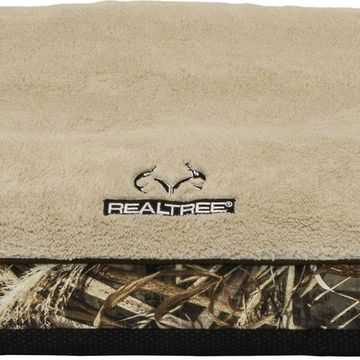 Realtree Gusseted Orthopedic Pillow Cat & Dog Bed w/Removable Cover