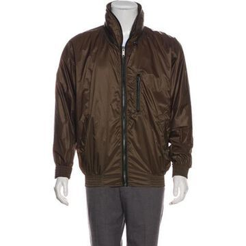 Lightweight Zip Jacket brown