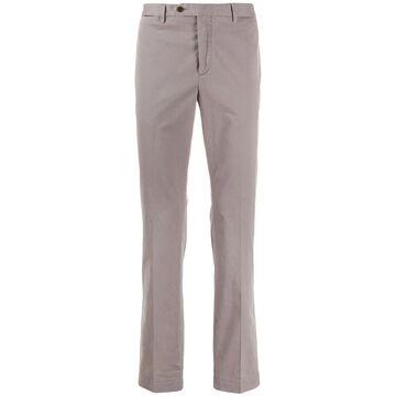 straight-leg chino trousers