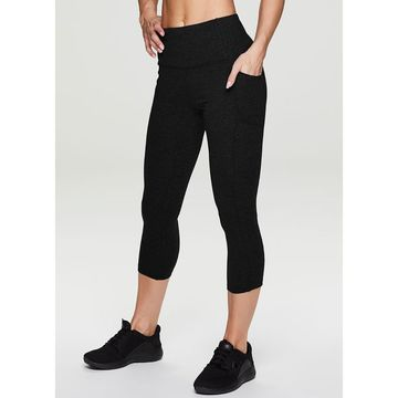 Womens RBX High Waisted Capri Pants with Pockets