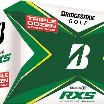 Bridgestone 2020 TOUR B RXS Golf Balls - Triple Dozen