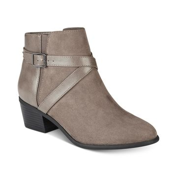 Falonn Ankle Booties, Created for Macy's