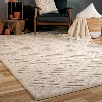 Orian Rugs Boucle Indoor/Outdoor Charlton Driftwood Area Rug - 5'2