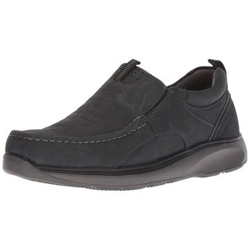 Propet Mens Owen Leather Closed Toe Slip On Shoes