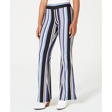 Juniors' Striped Knit Pants