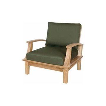 Anderson Teak DS-101 Brianna Deep Seating Armchair with Cushion