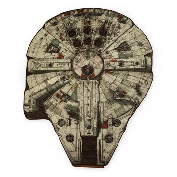 Star Wars& Millennium Falcon Blanket in a Bag