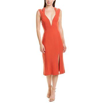 Finders Keepers Womens Finderskeepers Lines Midi Dress