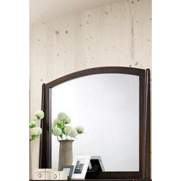 Benzara BM171364 Mirror, Varnish Oak
