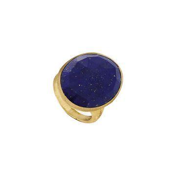 Marco Bicego Lunaria 18K Yellow Gold Lapis Ring