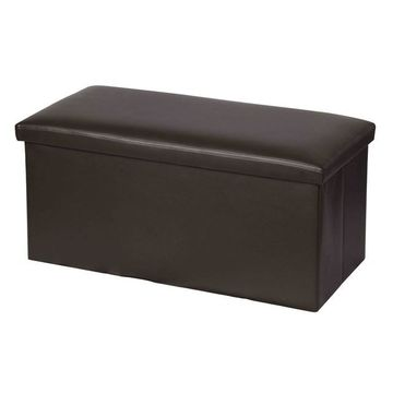 Home Basics Bench Storage Ottoman