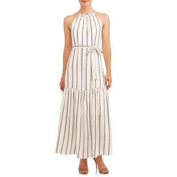 ECI Women's Maxi Lurex Dress