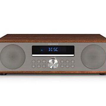 Crosley Fleetwood Clock Radio & CD Player with Bluetooth