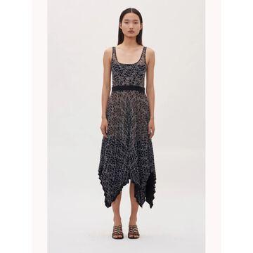 Dion Lee Black Sleeveless Below The Knee Dress 10