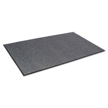 Crown Needle Rib Wipe & Scrape Mat Polypropylene 36 x 60 Gray NR0035GY
