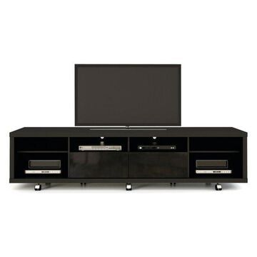 Manhattan Comfort Cabrini Tv Stand 2.2, Black