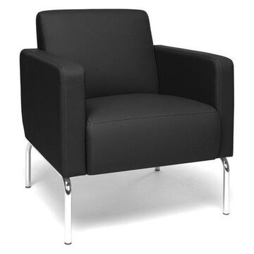 OFM Triumph Guest Chair, Black