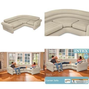 Futon Bed Couch Sofa Sectional Sleeper Living Room Furniture Inflatable Loveseat