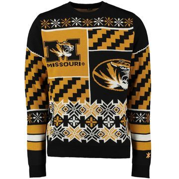 Missouri Tigers Klew Thematic Ugly Sweater - Black