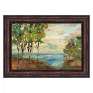 Metaverse Art View Of The Lake Framed Wall Art, Multicolor, 20X30
