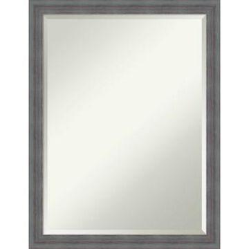 Amanti Art Dixie Rustic 20x26 Bathroom Mirror