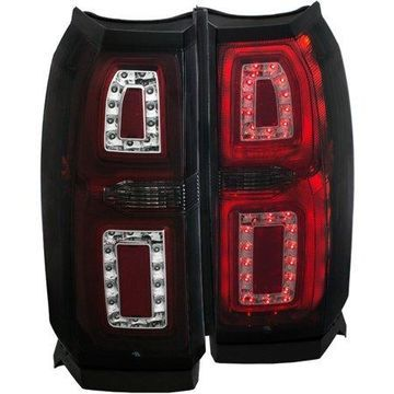 ANZO 2015-2016 Chevrolet Tahoe LED Taillights Smoke G2
