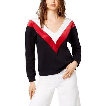 Kendall Kylie Womens Chevron Sweatshirt