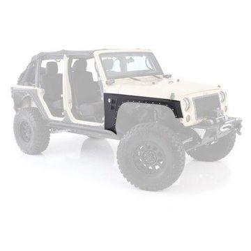 Smittybilt 76880 XRC Armor Front Fenders For 2007-2015 Jeep JK Wrangler