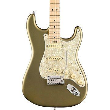 Fender American Elite Stratocaster Maple Fingerboard Electric Guitar Satin Jade Pearl Metallic