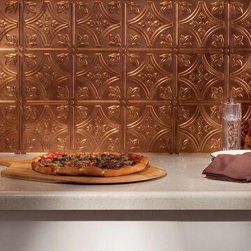 Fasade Traditional Style #1 Antique Bronze 18 sq ft Backsplash Kit