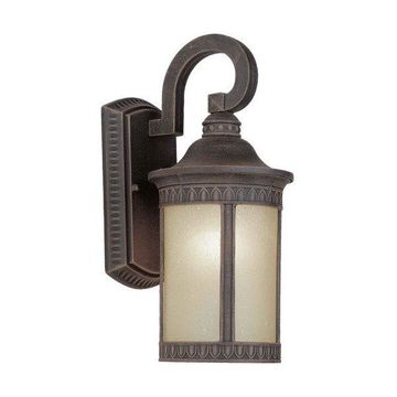 Forte Lighting 17022-01 1 Light Outdoor Wall Sconce