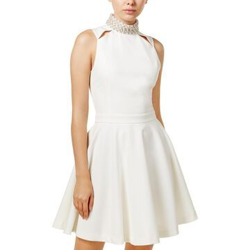 XOXO Womens Juniors Party Sleeveless Cocktail Dress