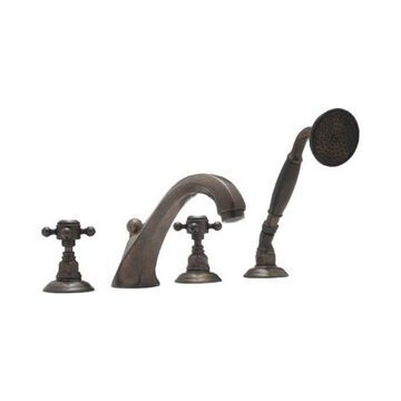Rohl Roman Tub Faucet in Tuscan Brass