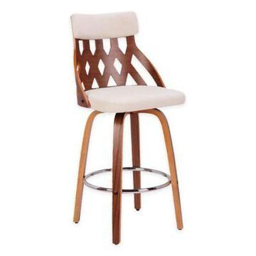 Lumisource Upholstered Barstool in Multi