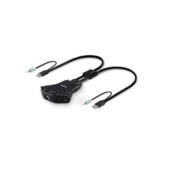 Linksys F1DN102K-3 Secure KM switch - Keyboard/mouse switch - desktop - B2B