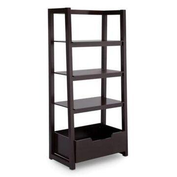 Delta Children Ladder Shelf in Dark Chocolate