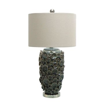 Jeco Ceramic 27.75-inch Table Lamp