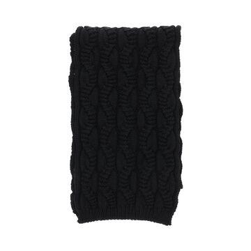 Weekend max mara mana cable knit scarf