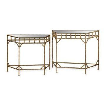 Sterling Industries 2-Piece Nesting Tables in Gold