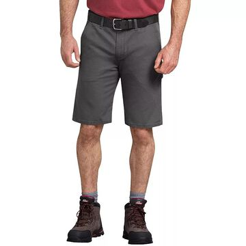 Men's Dickies TOUGH MAX Duck Carpenter Shorts, Size: 40, Black