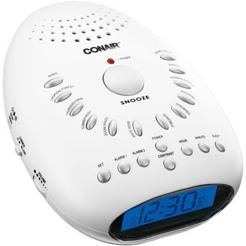 Conair Soothing Sounds And Relaxation Clock Radio