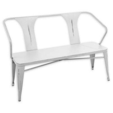 Lumisource Waco Bench in White