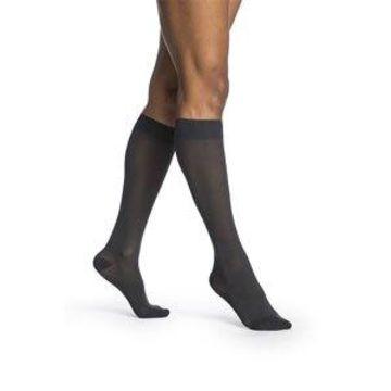 Sigvaris Sigvaris-752CMSW94 Womens Midsheer Calf High Socks, Nightshade - Medium Short
