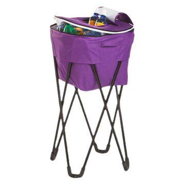 Tub Cooler, Black, Purple