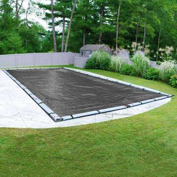Robelle 10-Year Dura-Guard Mesh Rectangular Winter Pool Cover, 30 x 60 ft. Pool